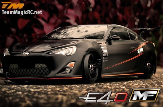 Auto - 1/10 Elektrisch - 4WD Drift - RTR - Brushed - Team Magic E4D-MF - Toyota 86