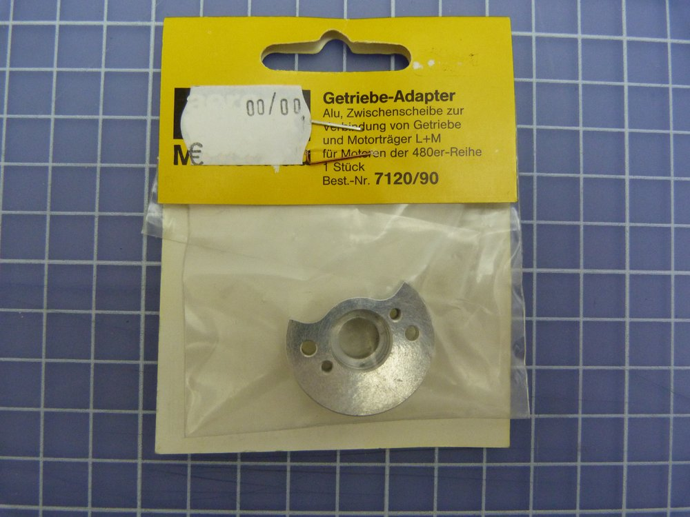 Getr-Adapter 480er-Mot