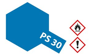 PS-30 Brillant Blau Polycarbonat, 100ml