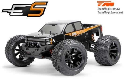 1/10 Monster Truck Elektrisch - 4WD - RTR - Brushless - Wasserdicht - Team Magic E5
