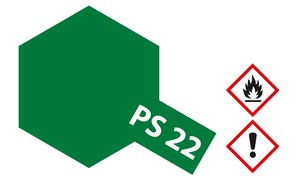 PS-22 Brit. Racing Grün Polycarbonat, 100ml