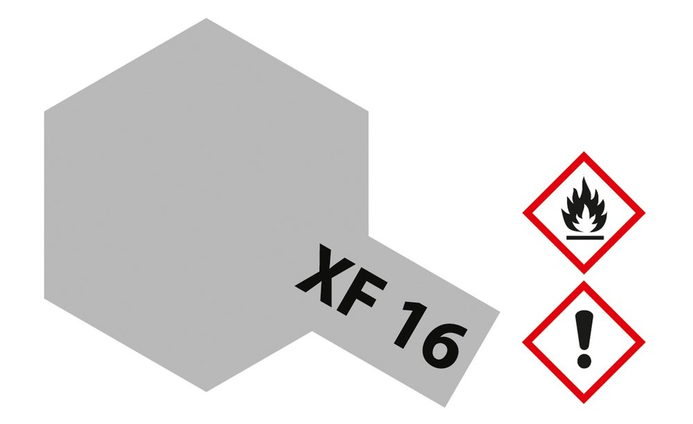 XF-16 Aluminium matt 23ml