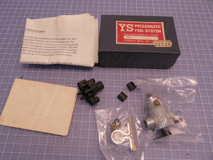 Yamada pressurized fuel system for G 61 FI Blue