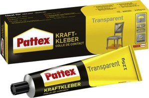 Pattex Transparent 125gTube