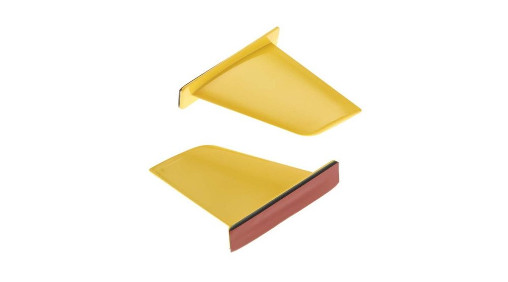 Vertical Fins, Yellow: UL-1 Superior