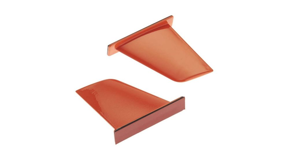 Vertical Fins, Orange: UL-1 Superior