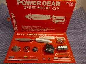 POWER GEAR SPEED 600 BB 7,2 Volt