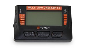 D-Power Multi Lipo Checker 8S / Balancer / Servotester / Akkutester