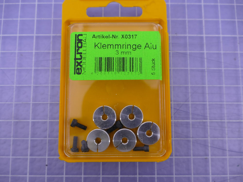 Klemmring Alu 3mm (VE=5St.)
