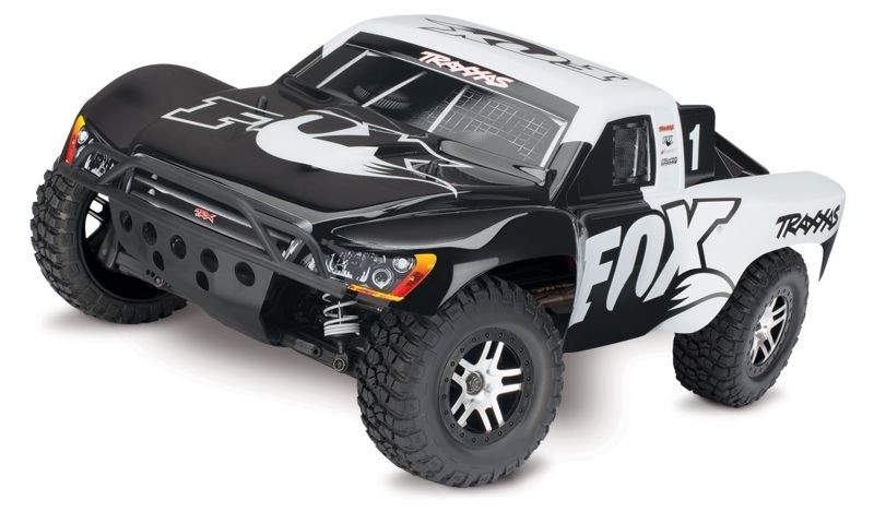TRAXXAS Slash 4x4 BRUSHLESS +TSM ohne Lader ohne Akku Short Course Race Truck 2.4GHz (Link-fähig)