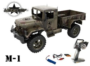 M1 Military Truck - 100 % RTR