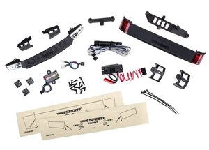 LED Licht-Kit kpl. mit Powersupply (Headlights, Tail light & TRAXXAS für #8111 Karo