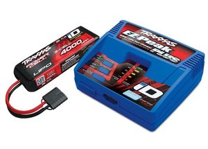 Completer Pack mit 2970GX iD Lader +2849X 4000mAh 11.1v LiPo TRAXXAS