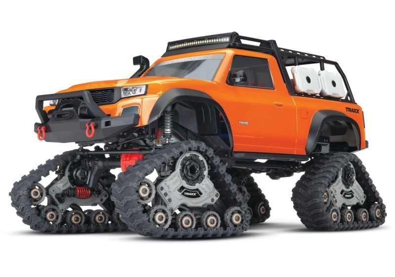 TRAXXAS TRX-4 mit All-TerrainTraxx orange RTR o. Akku/Lader 1/10 4WD Scale-Crawler Brushed