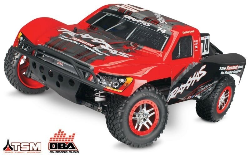 TRAXXAS Slash 4x4 BRUSHLESS +OBA&TSM (Link-fähig) Short Course Race Truck 2.4GHz ohne Akku ohne Lader