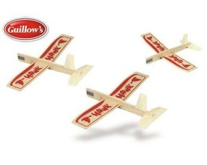 Guillow 2nd Generation Hawk Three Pack
