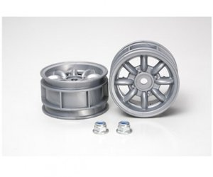 M-Chassis Felgen silber (2) M-Chassi 8-Spoke Wheels